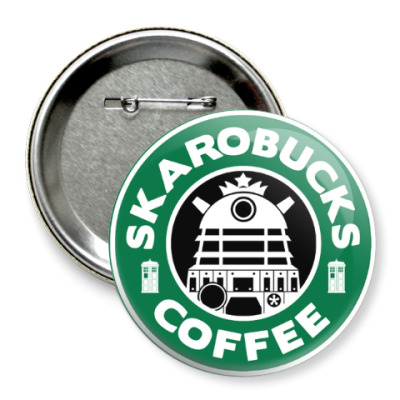 Skaro Coffee DOCTOR WHO Dalek
