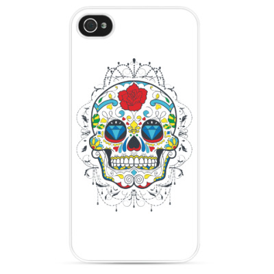 Чехол для iPhone Sugar Skull