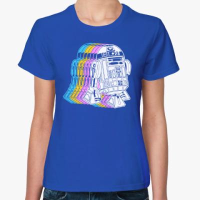 Женская футболка R2D2