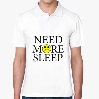 Рубашка поло Need more sleep