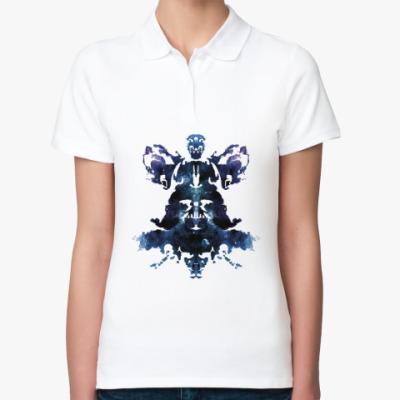 Женская рубашка поло Rorschach Darth Vader