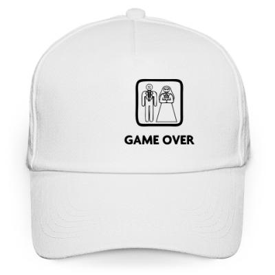 Кепка бейсболка Game Over
