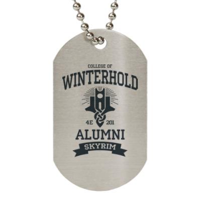Жетон dog-tag Skyrim College of Winterhold