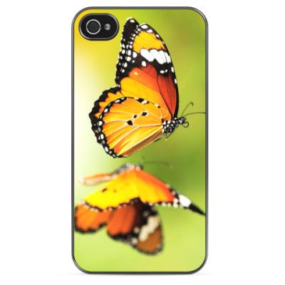 Чехол для iPhone Порхающие бабочки