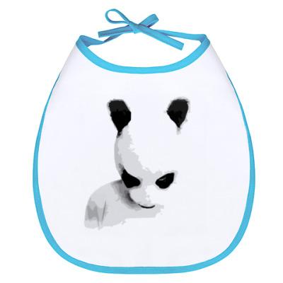 Слюнявчик Hard Panda