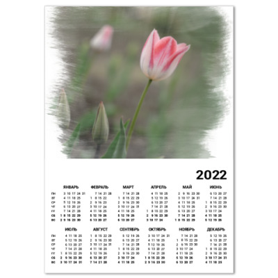 Календарь Апрельский тюльпан
