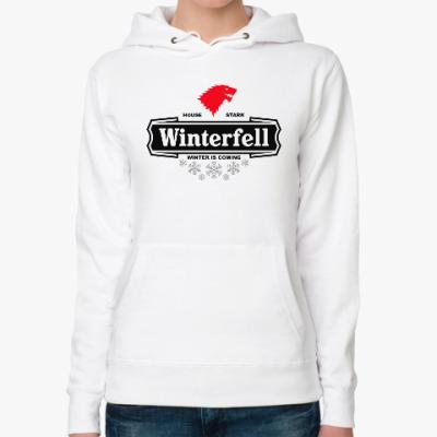 Женская толстовка худи Winterfell