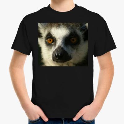 Детская футболка Лемур