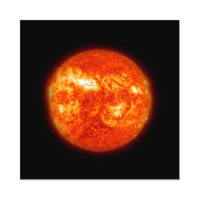 Наклейка (стикер) Солнце