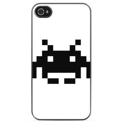 Чехол для iPhone Space invaders