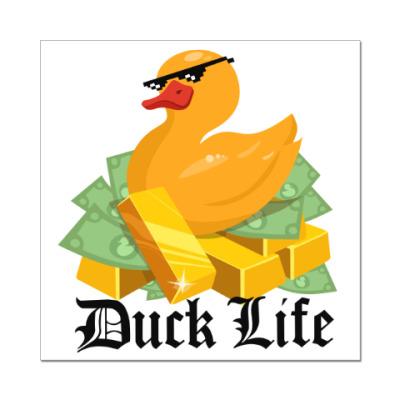 Наклейка (стикер) Duck Life