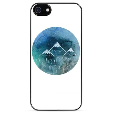 Чехол для iPhone За синие горы