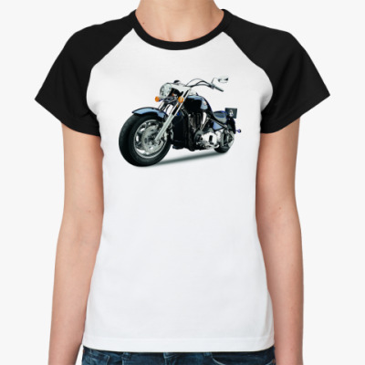 Женская футболка реглан Bike