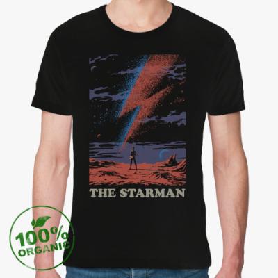Футболка из органик-хлопка David Bowie Starman Дэвид Боуи