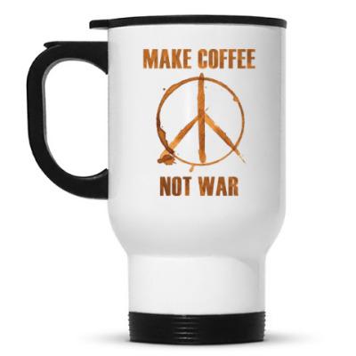 Кружка-термос Make Coffee Not War