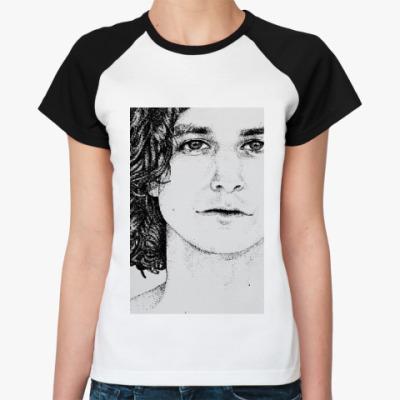 Женская футболка реглан Gotye