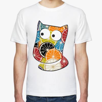 Футболка Апельсиновый котик