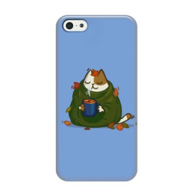 Чехол для iPhone 5/5s Пятничный Котик №23