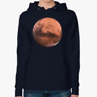 Женская толстовка худи Марс