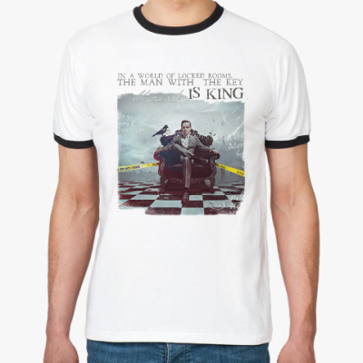 Футболка Ringer-T Moriarty is Our King