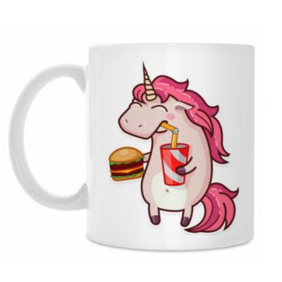 Кружка Fastfood Unicorn