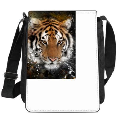 Сумка-планшет Взгляд тигра