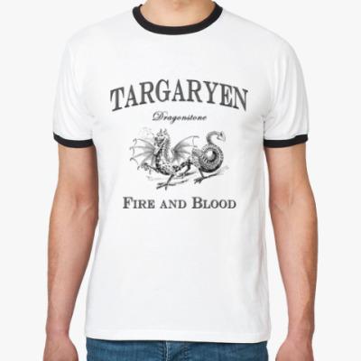 Футболка Ringer-T Targaryen