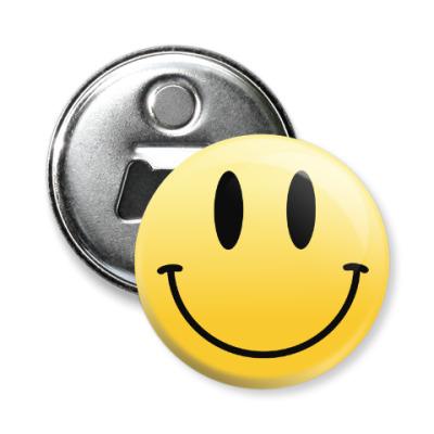 Магнит-открывашка Smile