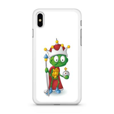 Чехол для iPhone Добрый Черепашонок Король
