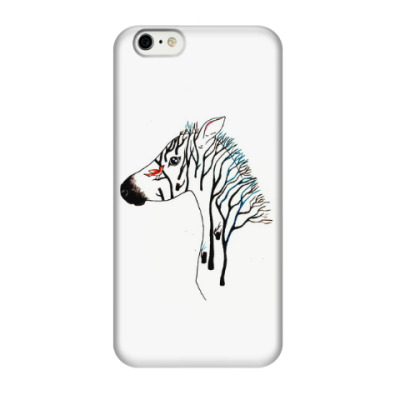 Чехол для iPhone 6/6s Zebra