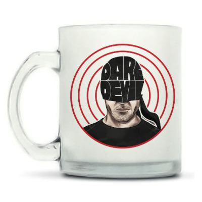 Кружка матовая Daredevil / Сорвиголова