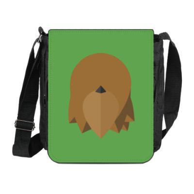 Сумка на плечо (мини-планшет) Чубакка (Chewbacca) Минимализм