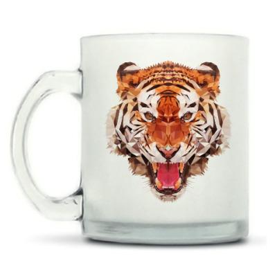 Кружка матовая Тигр