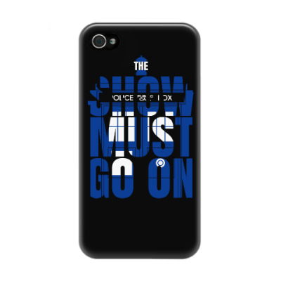 Чехол для iPhone 4/4s The Show Must Go On