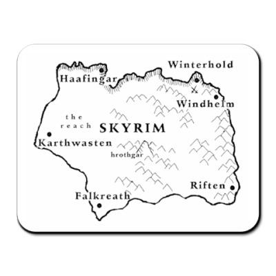 Коврик для мыши Skyrim