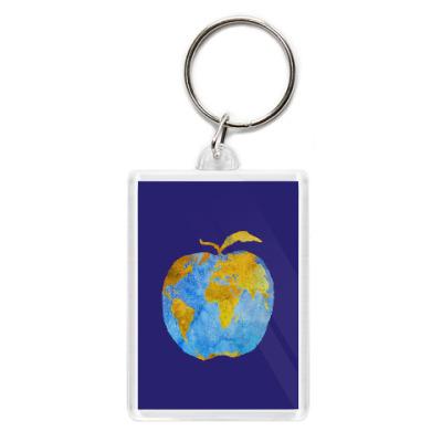 Брелок Apple Earth