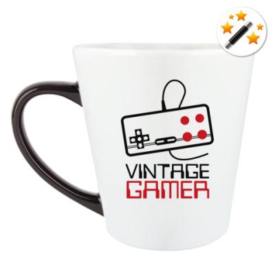 Кружка-хамелеон Vintage Gamer