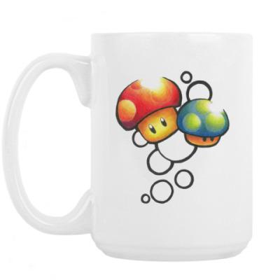 Кружка Mario Mushrooms