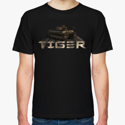 Футболка Немецкий тяжелый танк Tiger