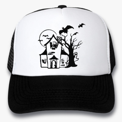 Кепка-тракер Хеллоуин