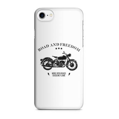 Чехол для iPhone 7/8 Король дорог (мотоцикл)