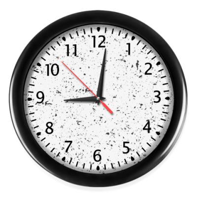 Настенные часы Текстура камня