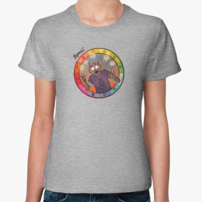 Женская футболка Знаки Зодиака. Водолей