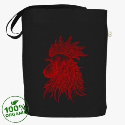 Сумка Красный петух символ Года