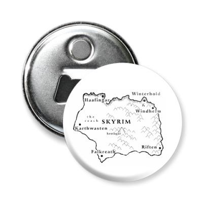 Магнит-открывашка Skyrim