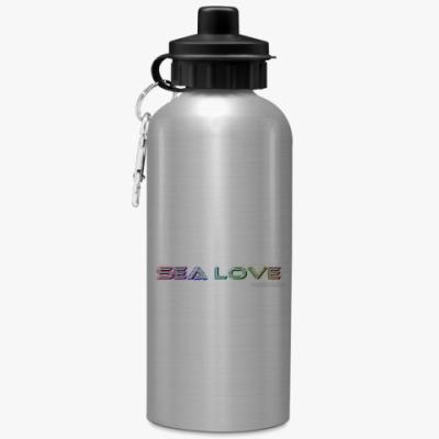 Спортивная бутылка/фляжка любовь