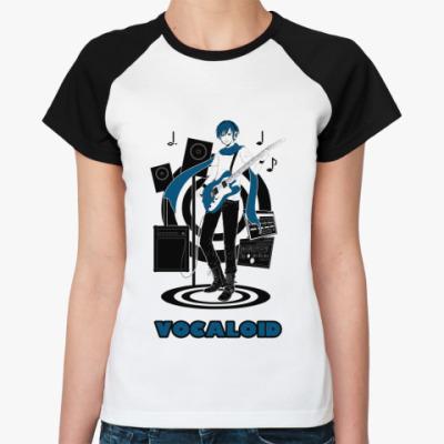 Женская футболка реглан  Vocaloid