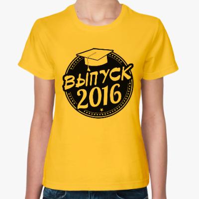 Женская футболка Выпуск 2016