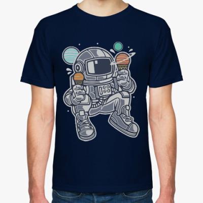 Футболка Icecreams and Spaceman