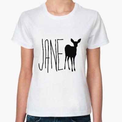 Классическая футболка JANE DOE